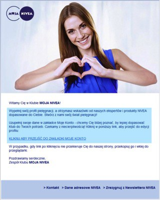 mail powitalny to więcej informacji dla wysyłającego