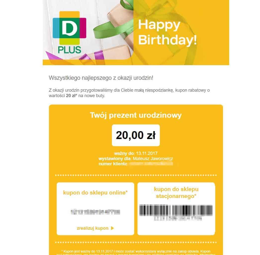 Kampania urodzinowa od Deichmann | Kampanie urodzinowe przykłady.