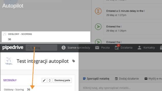 integracja pipedrive z autopilot marketing automation