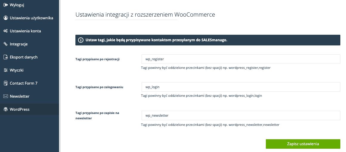 Integracja SalesManago ze stroną internetową opartą o WordPress 2