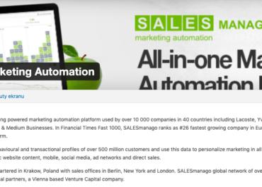 Integracja SalesManago ze stroną internetową opartą o WordPress
